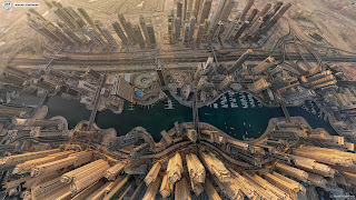 dubai picture from top