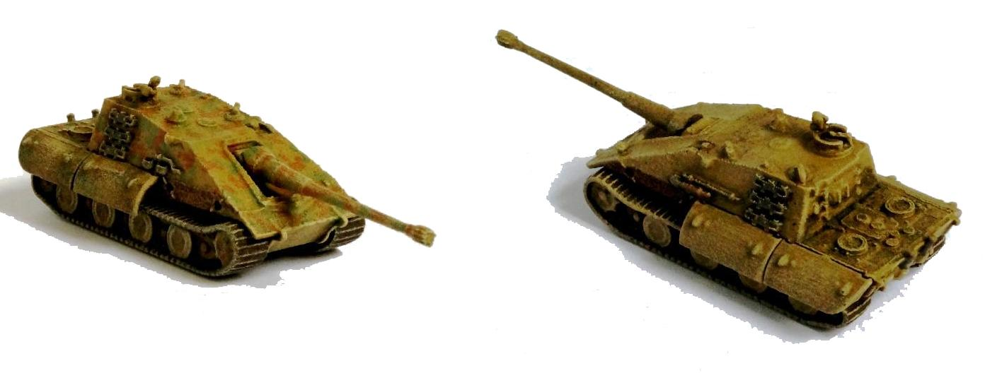 "Kampfgruppe 1/144: 1/144 Jagdpanzer JgPz E-100 ""Krokodil ..."