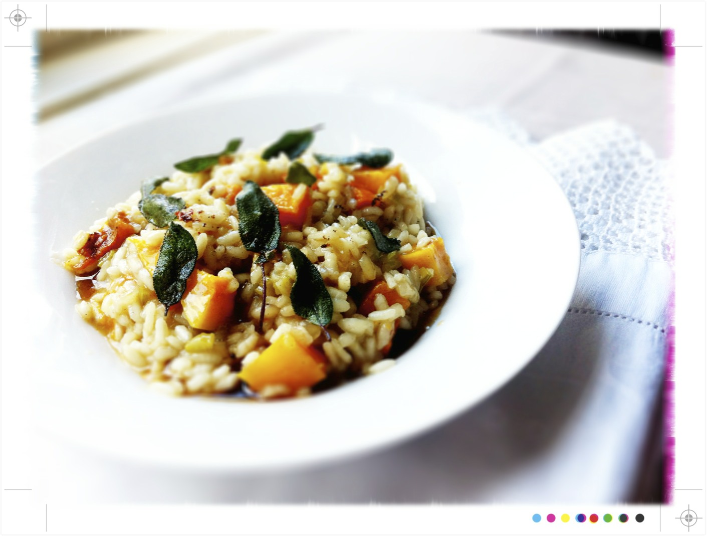 Toast: Roast Pumpkin, Sage and Brown Butter Risotto