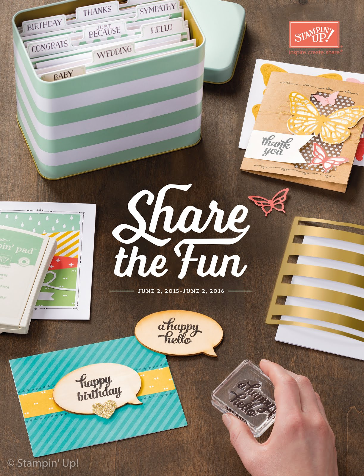 Stampin' Up! Annual Catalogue 2015-2016