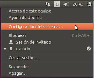 Configuración del sistema...