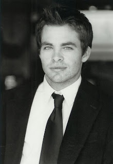 American Actor Chris Pine Photo wallpapers 2012
