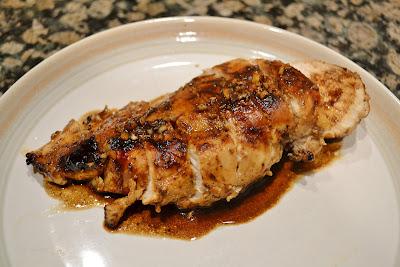 Honey Garlic Balsamic Chicken