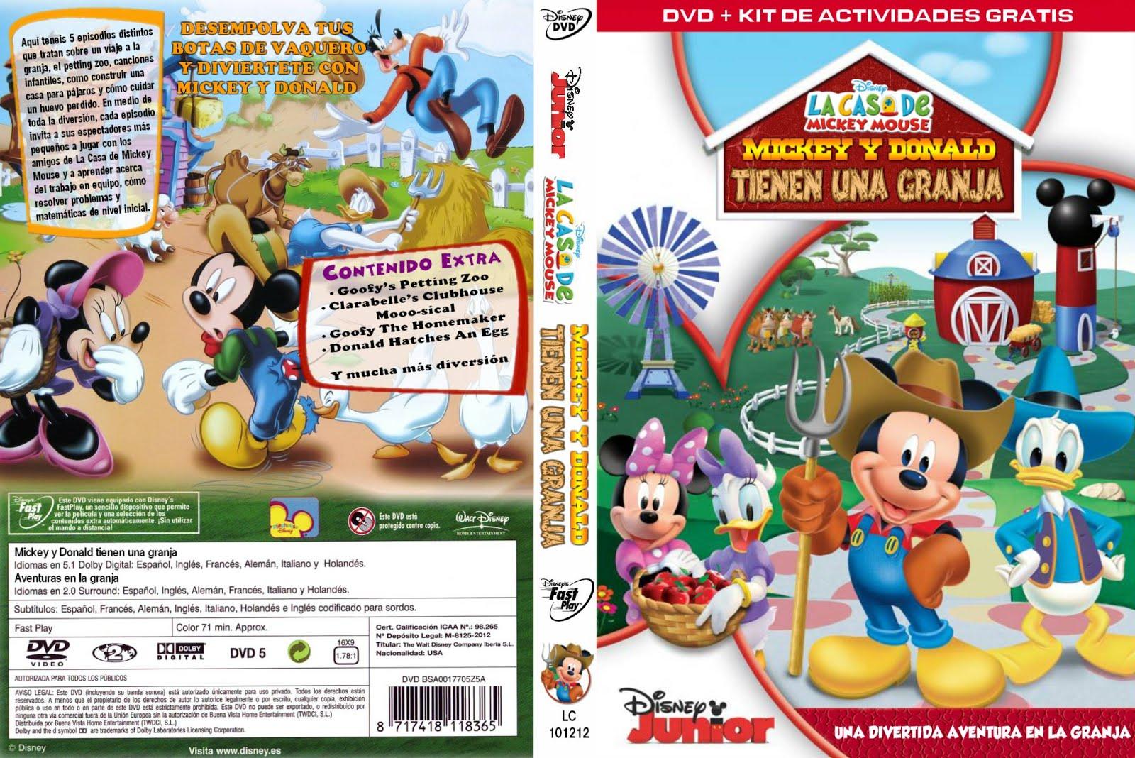 CATALOGO INFANTIL: La casa de Mickey Mouse - Mickey y Donald tienen ...