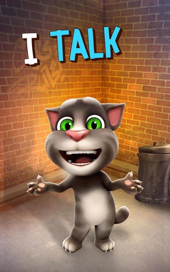 Приложение talking tom cat 2 для компьютера