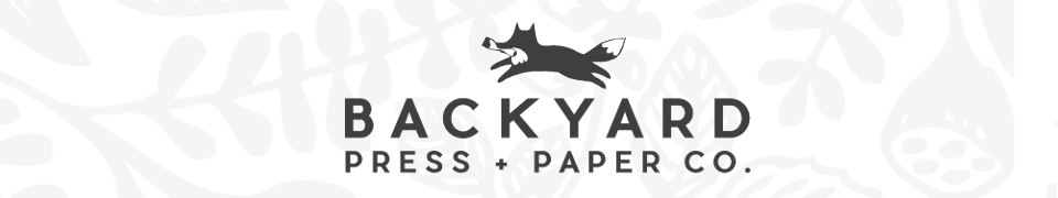 Backyard Letterpress and Paper Blog
