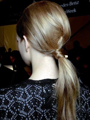 Peinados cola de caballo 2013