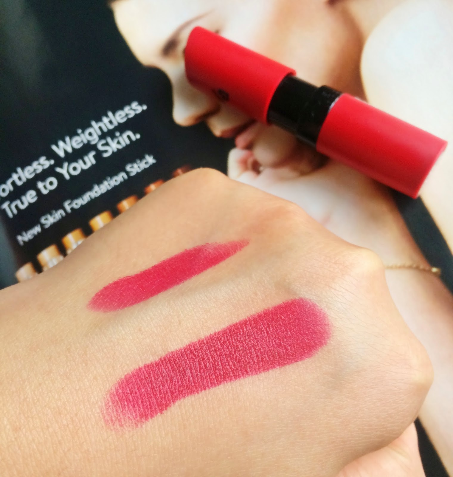 Rimmel Kate Matte Lipstick in 107 Swatch - Beauty by Eff