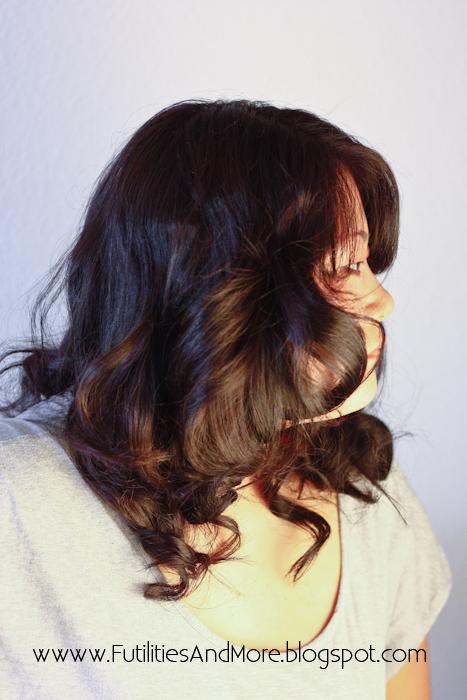 Sexy Big Curls Tutorial With Hot Rollers, jilbere de paris, ceramic tools, babyliss, futilitiesandmore.blogspot.com, futilities and more, futilitiesandmore