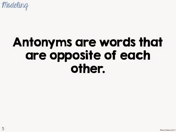 Antonym Kite Craftivity Direct Instruction Lesson Tales From A
