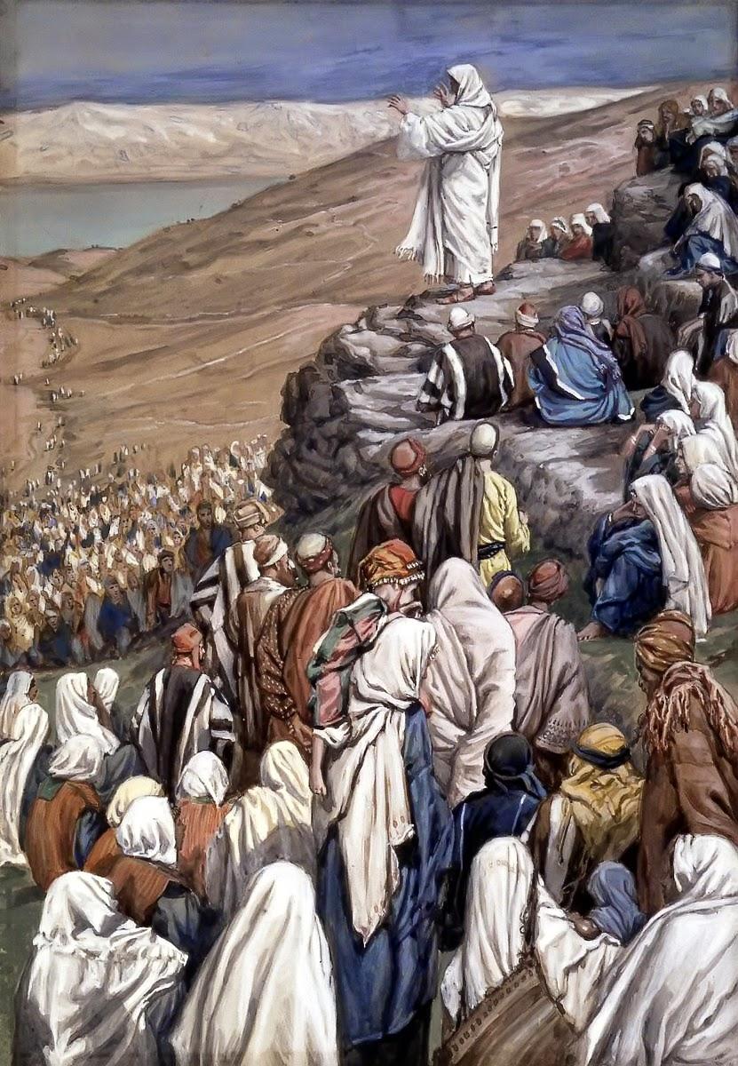 Sermon Monte Jesús Bienaventuranzas