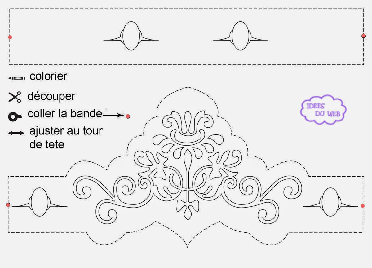 crowns and tiaras free printables and templates is it for