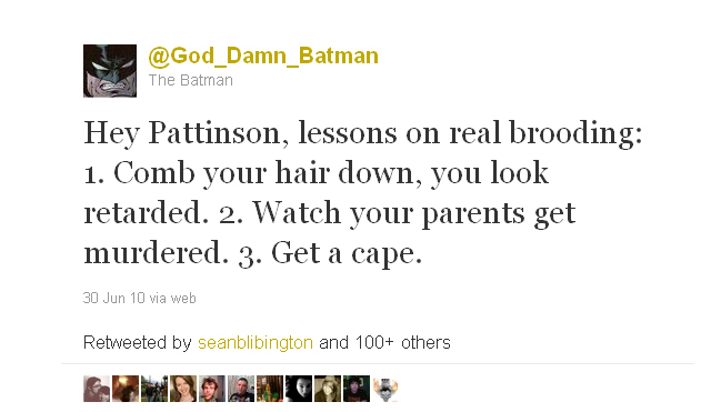 God_Damn_Batman from June 30, 2010