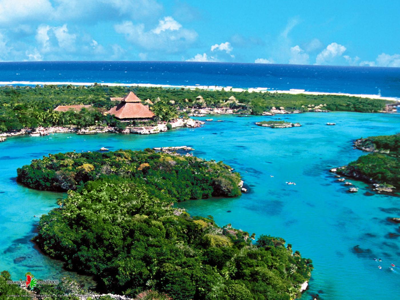 Sun, Sand And The Caribbean Sea On The Riviera Maya