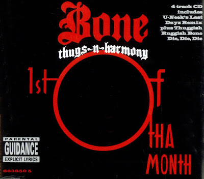 Bone Thugs-N-Harmony – 1st Of Tha Month (4-Track CDS) (1995) (320 kbps)