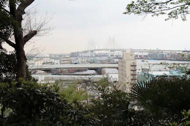 フランス山から横浜港