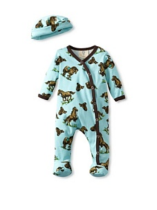 MyHabit: Up to 60% off Madboy for Baby Boys: Footie With Hat Set