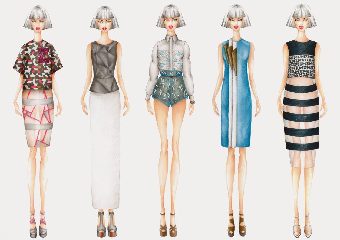 Conosciuto Valentina Poltronieri Fashion Blog: DISEGNI DI MODA BC25