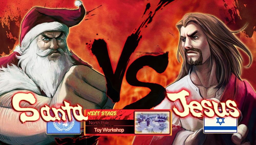Jesus vs Santa Board Game.... who\'s side are you on?? | MMAjunkie ...