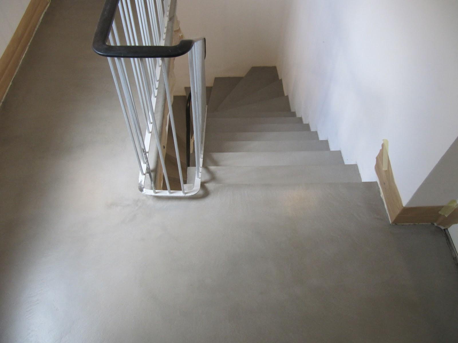 beton unique beton cire betontreppe beton cire. Black Bedroom Furniture Sets. Home Design Ideas