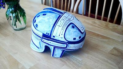 Classic Tron helmet prop replica