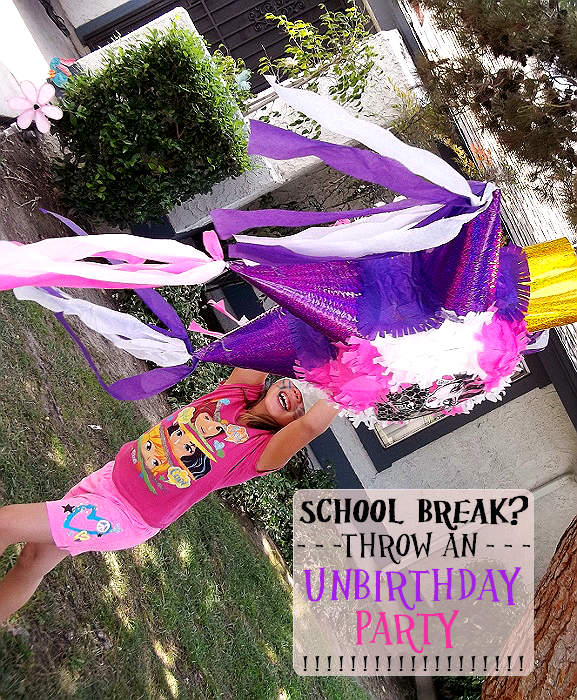 Throw and Unbirthday Party this Spring or Summer Break!