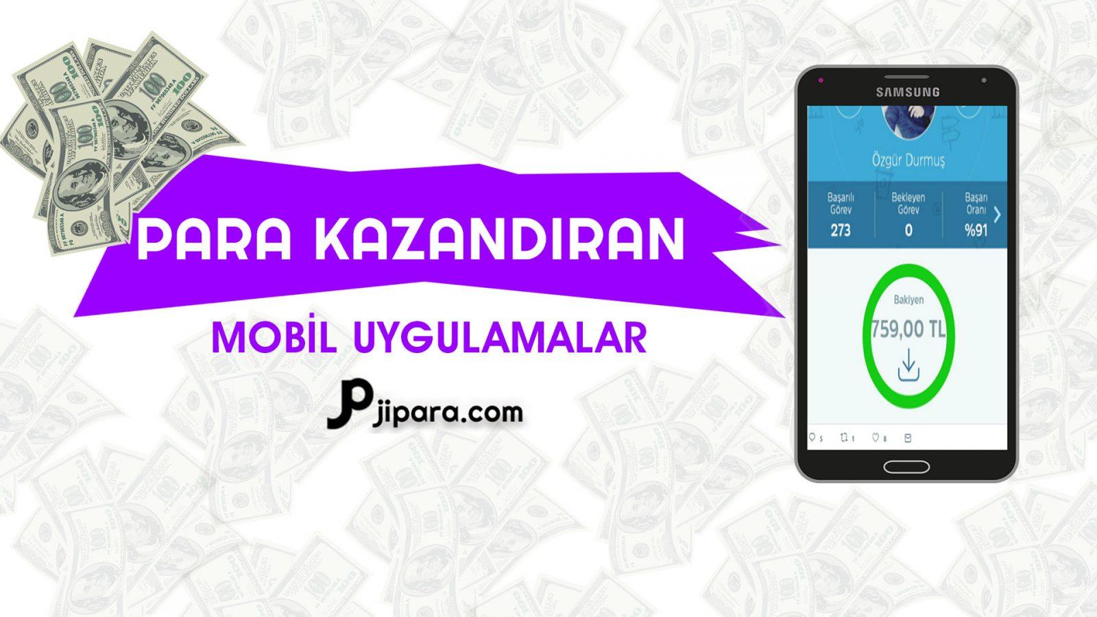 Telefondan Para Kazandıran Mobil Uygulamalar