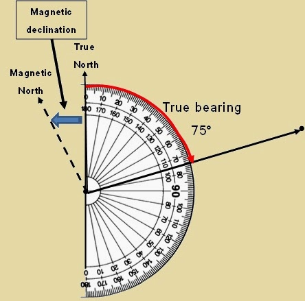 Easy Mapwork Mapwork Calculations - 2017 magnetic declination map of the us