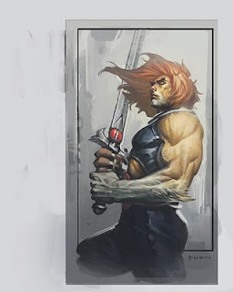 Lion Tygra on Thundercats Return  Fan Art Gallery Part 2   Lion O  Panthro    Tygra