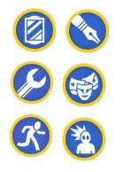 GM Merit Badges