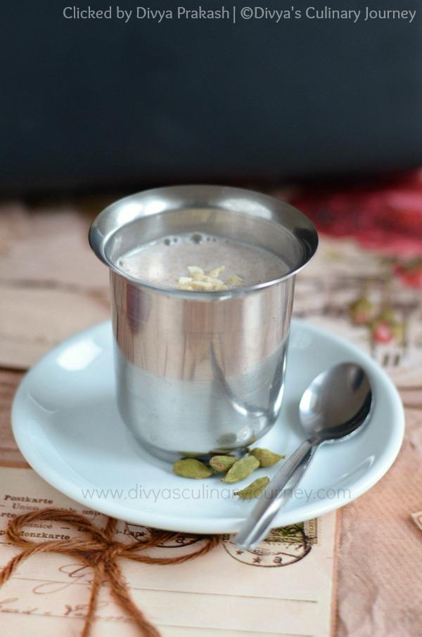 Sweet Ragi drink, ragi porridge, ragi health drink