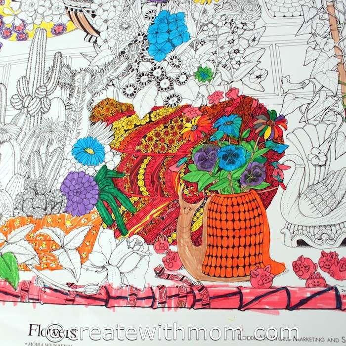Create With Mom: Having Fun With The DoodleArt Poster