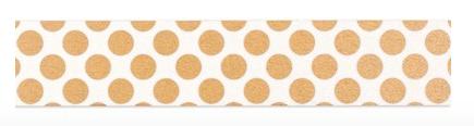 Gold Polka-Dot Washi Tape