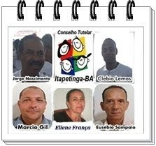 Conselheiros Tutelares de Itapetinga-BA