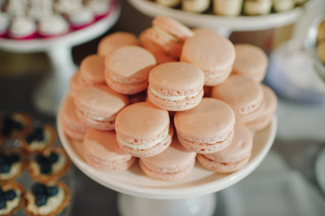 Minnesota Barn Wedding French Macarons