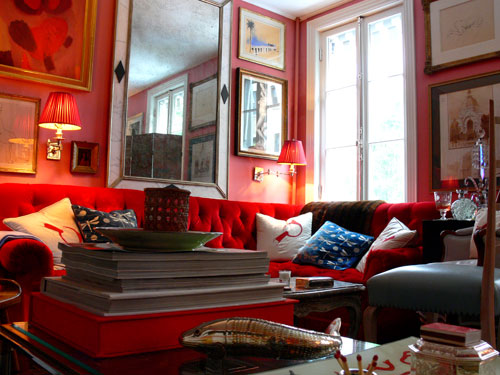 Sybaritic Spaces Glamorous Rooms By Miles Redd