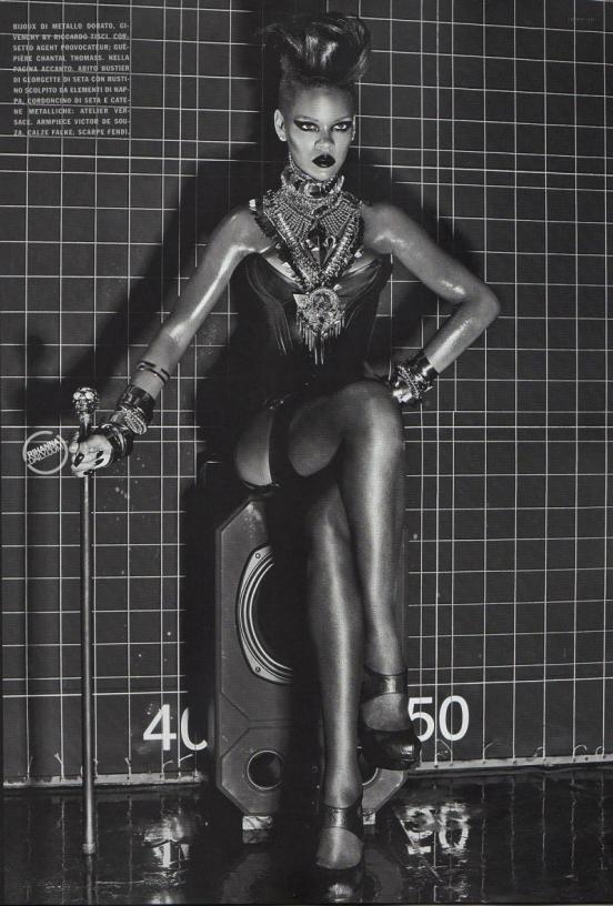 Rihanna Vogue Italia 2009