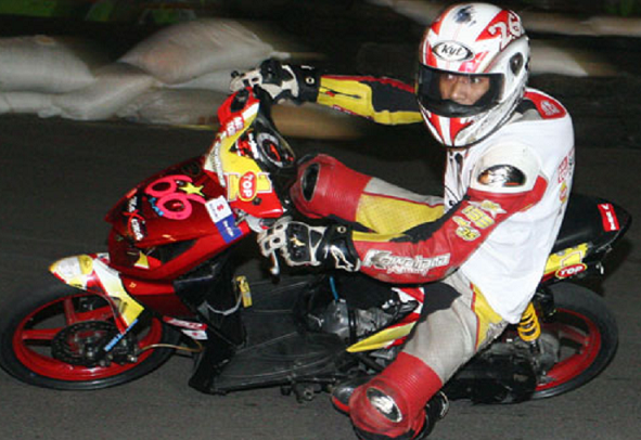 modifikasi motor beat fi road race gambar modifikasi beat fi road race title=