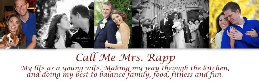 Call Me Mrs. Rapp