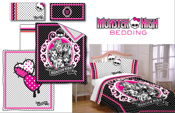 get ready to slumber with the gals and guys of monster high nataliezworld. Black Bedroom Furniture Sets. Home Design Ideas