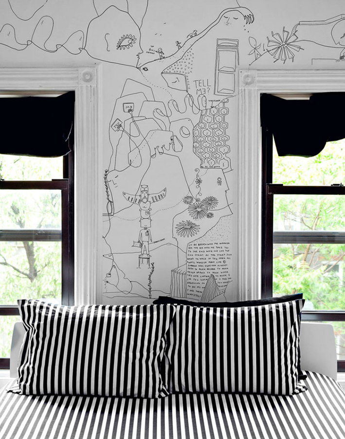 Shantell Martin's bedroom