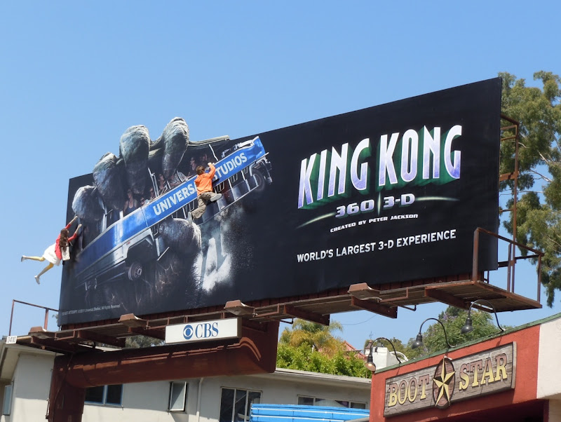 King Kong 360 3D billboard
