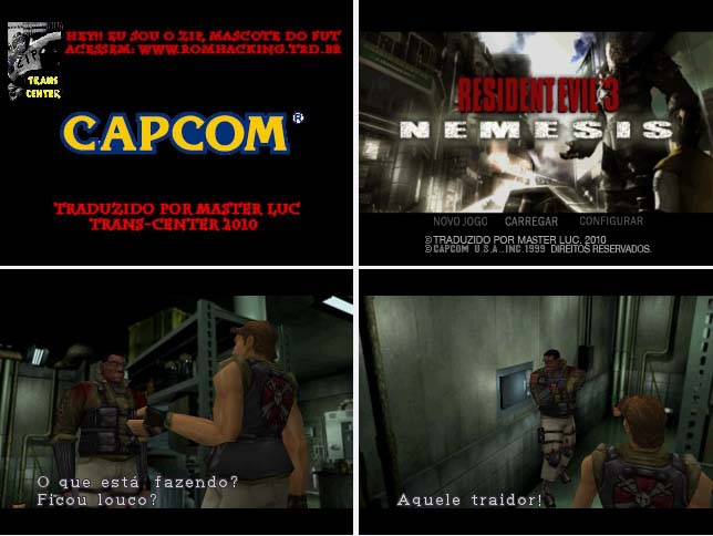 [PSX/PSP] Resident Evil 3: Nemesis - PT-BR  Re3br