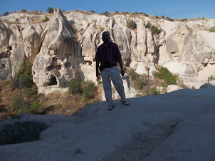 """At """"Goreme Open Air Museum""""."""