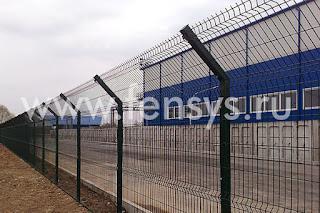 Забор металлический сварной Fensys. Фото 4