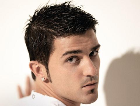 ��� ����� ��� 2011 �� ������� ��� ��� �� ����� David Villa New Hair