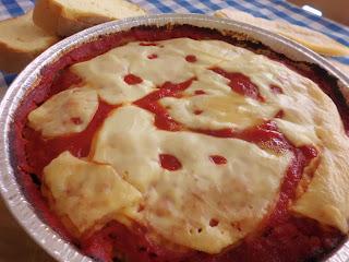 la carne si traveste da ....pizza !!!!