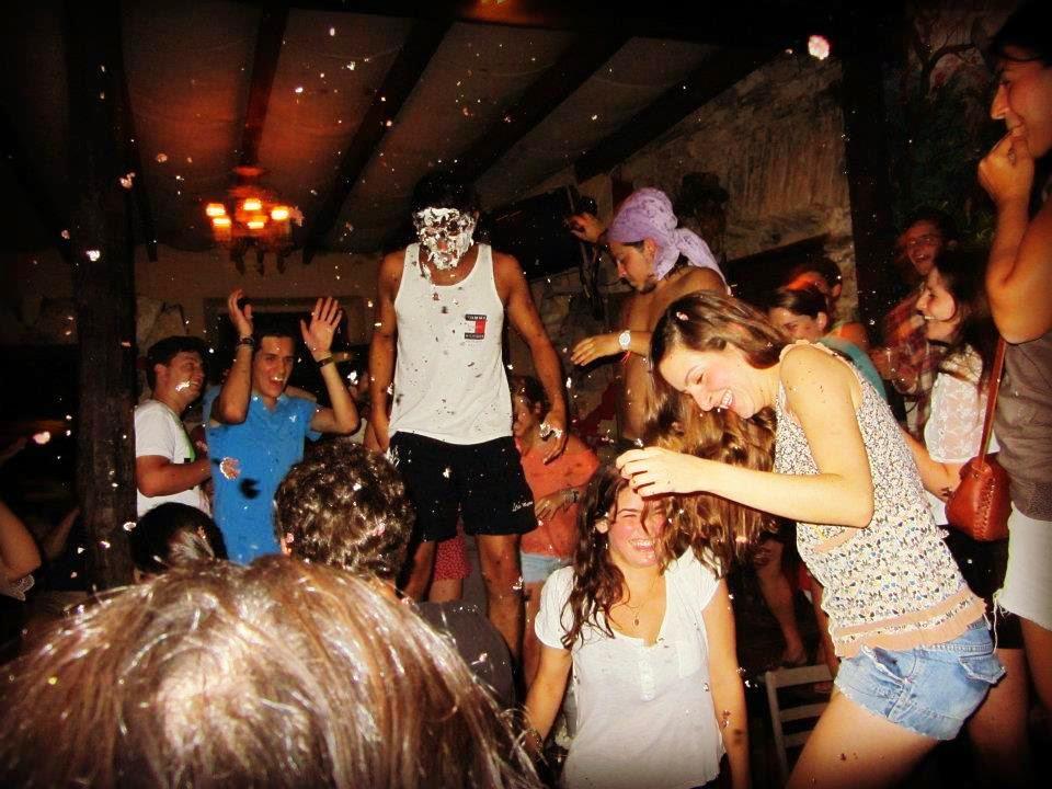 Partying, Xilitla, San Luis Potosi, Mexico