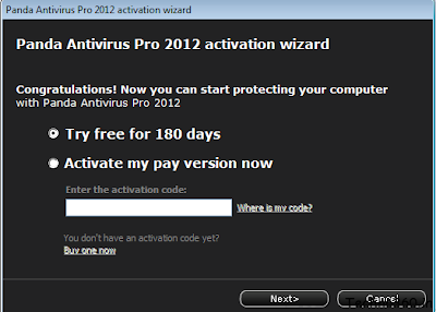 Free Download Panda Antivirus Pro 2012 for 6 months