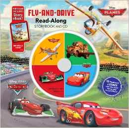 Cars / Planes: Fly-and-Drive ReadAlong Storybook and CD